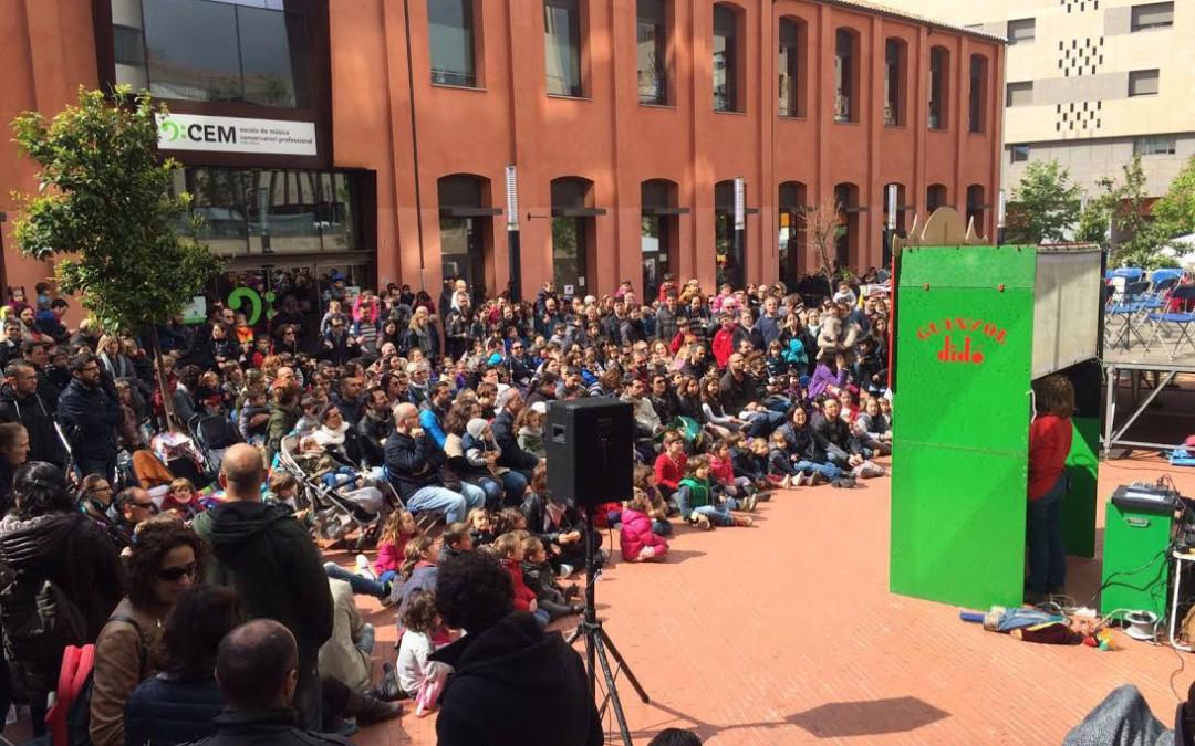 El Festival Didó torna a ser un èxit i omple el Vapor Gran d'un públic familiar
