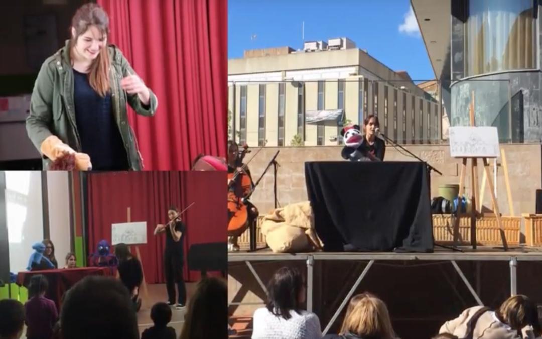 Els alumnes de l'INS Viladecavalls participen activament en la segona edició del Festival Didó