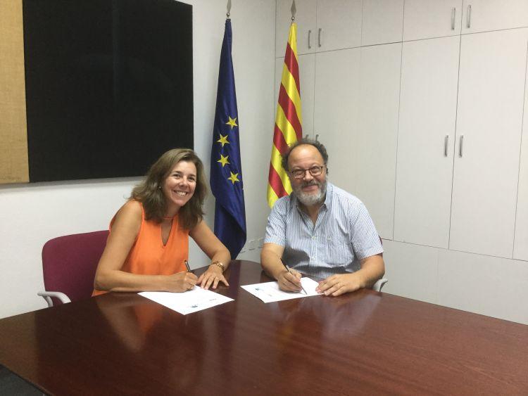 El CEM signa un conveni de col·laboració amb l'escola Montcau – La Mola