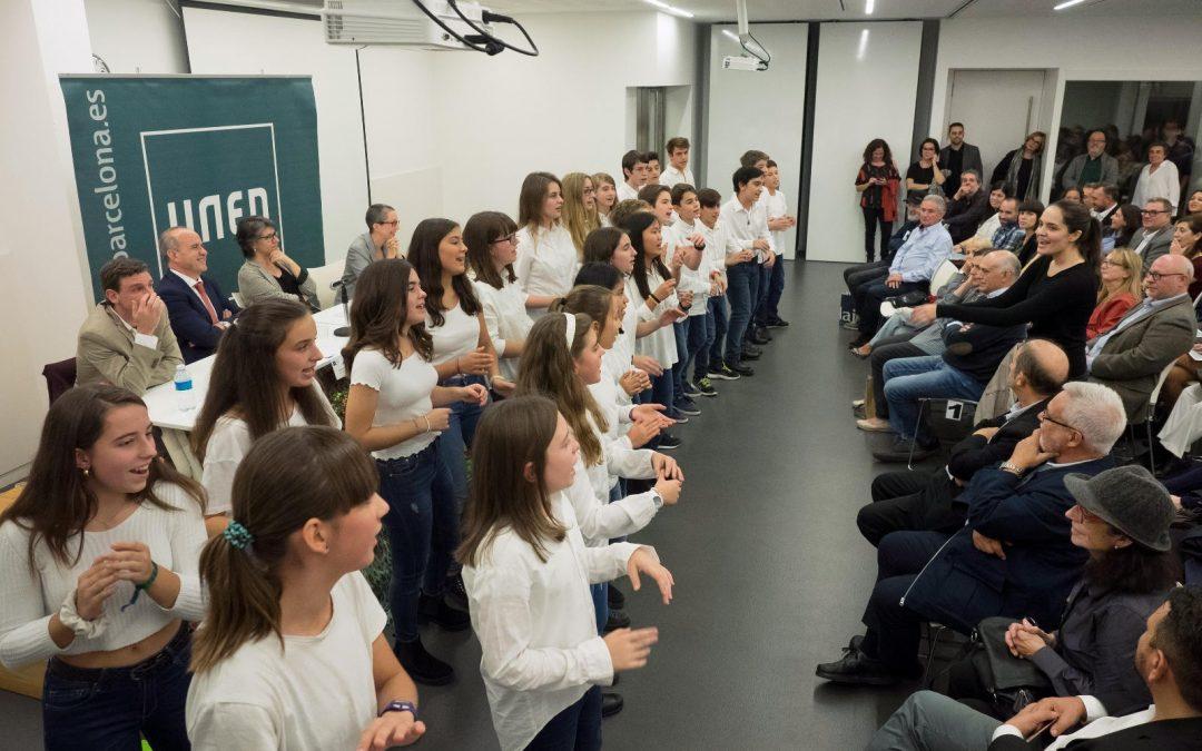 Participem amb el Cor Jove a la inauguració del curs acadèmic de la UNED