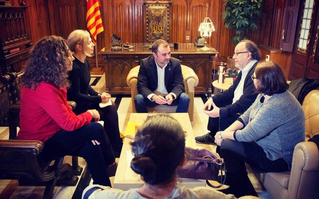 Presentem davant l'alcalde de Terrassa les nostres propostes per a la ciutat